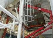 Elevador de canasta manlift brazo articulado