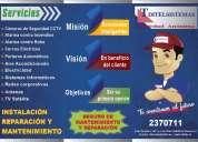 Instalación y mantenimiento de sistema cctv
