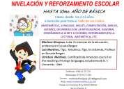 Clases o cursos de nivelación de inglés y matemática en el valle de los chillos