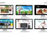 Obtenga su página web para su empresa y haga crecer su negocio