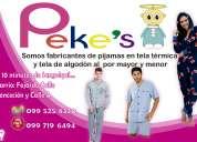 Diseños pekes pijamas para niños, jóvenes y adultos
