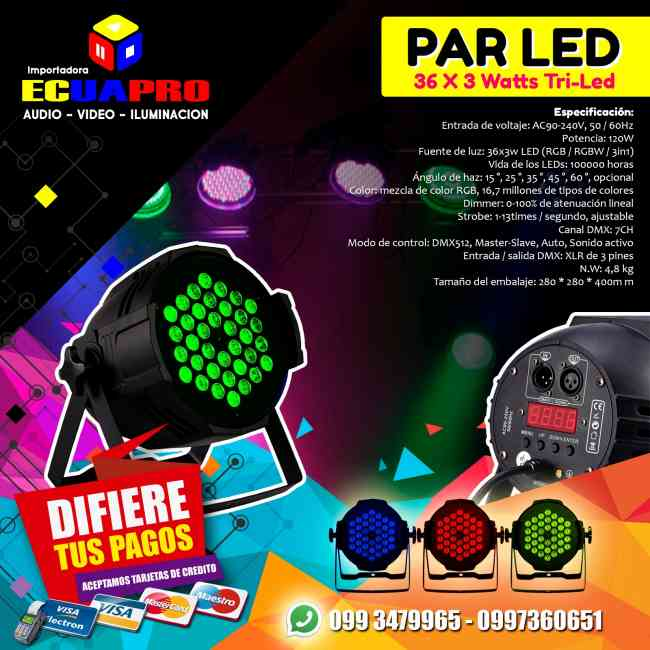 Luces LED Fiestas