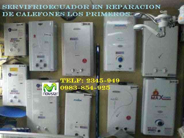 **098-3-85-4925** a domicilio reparacion de ¡CALEFONES!