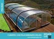 DiseÑos exclusivos en cubiertas para piscinas