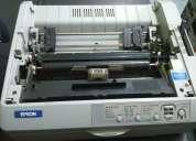 Hoy, impresora matricial epson fx890 lista para trabajar