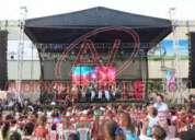 Equipos para conciertos y eventos corporativos