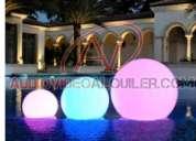 Esferas led flotantes