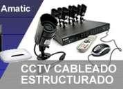 Ultimos cupos curso totalmente practico de cctv, configuración de redes.