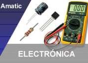 Ultimos cupos curso totalmente practico de electrónica básica.