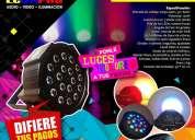 Iluminación para discoteca fiestas