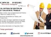 Seguridad industrial, salud ocupacional, ambiente, calidad