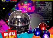 Tachos led para discotecas
