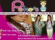 Fabricantes de pijamas para niños y adultos fajardo,
