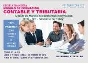 Curso de asistente contable y expertos tributario.