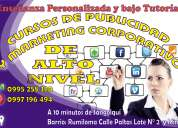 Cursos personalizados de marketing corporativo y publicidad .