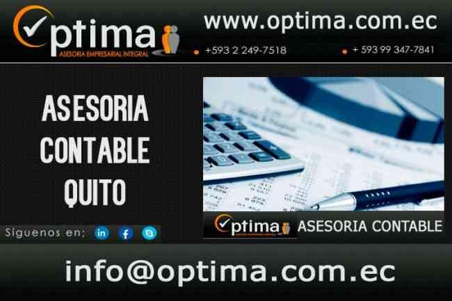 Asesoría contable en Quito.