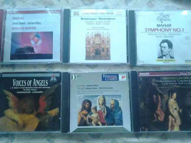 CDs de musica clasica originales