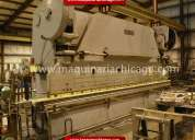 Prensa cincinnati 19' x 400 ton usada