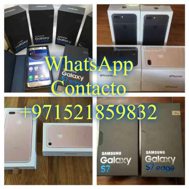 WhatsApp +971521859832 iPhone 7 Plus y iPhone 7 y Samsung S7 Edge y Samsung S7