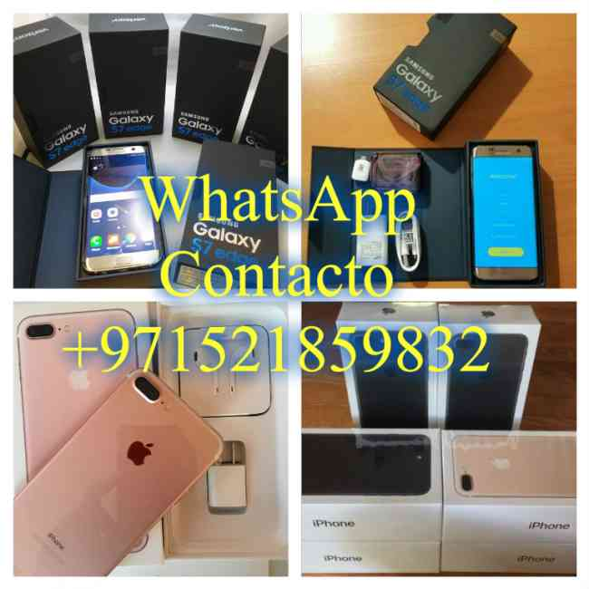 WhatsApp +971521859832 iPhone 7 Plus y Samsung S7 Edge y Samsung S7