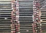 Fabricación, venta y alquiler de crucetas para andamios, encofrado en construccion, puntal y más