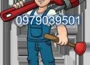 Solo llame al 0979039501.plomero en cobre plomeria en general 0979039501..