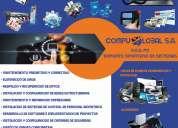 Servicio técnico, mantenimiento, reparación y venta de computadoras y tecnología