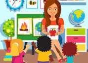Tenemos experiencia en , control de tareas,y nivelaciÒn a niÑos de educ. basica
