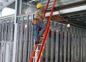 Venta, alquiler y fabricación de escaleras metalicas, andamios universales, montaje andamios y otro