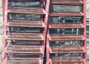 Venta y arriendo de trabajos en linea, sillas trabajos de altura, tecle 1250 kg y otros