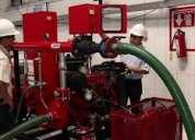 Venta, instalación y mantenimiento redes hidricas y sistemas de detección de humo
