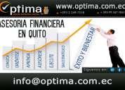 Asesoria contable y financiera.
