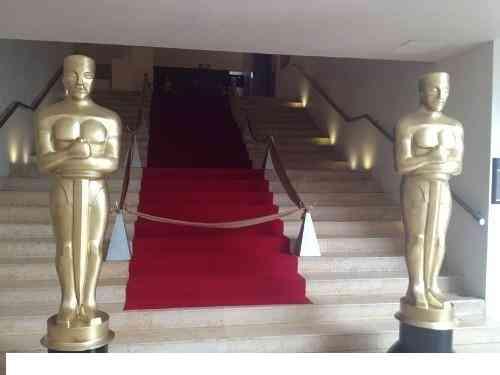 Alquiler De estatuillas del oscar para fiestas temáticas Hollywood