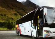 Servicio de transporte y turismo