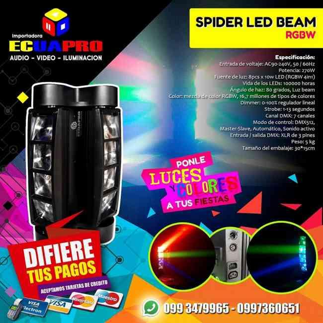 SPIDER LED BEAM DISPONIBLE EN ECUAPRO