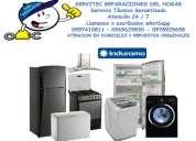 Reparaciones e instalaciones de línea blanca y climatización inverter