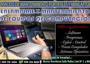 servicio técnico profesional de impresoras y portátiles...rumilom