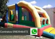 Inflable de alquiler 0983946472 watts sap