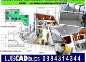 Oficinas, diseño interior, planos, cad, renders.
