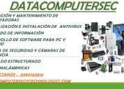 Datacomputersec   reparacion y mantenimiento de  todo tipo de computadoras a domicilo