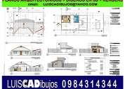 Autocad. planos arquitectónicos. relevamientos.
