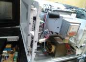 Reparación de microondas a domicilio.honestidad y garantía.