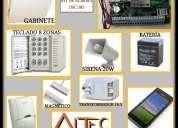 Cercas eléctricas, cámaras de vigilancia, alarmas de seguridad