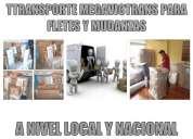 Transporte y mudanzas megavictrans