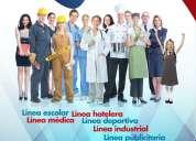 Uniformes para unidades educativas y empresas