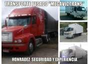 Transporte pesado con camiones de todo tonelaje
