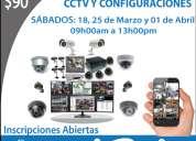 Inscripciones abiertas promoción $90 curso practico de cctv, redes, cableado estructurado.