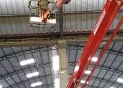 Galápagos elevadores para mantenimiento en altura