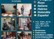 cursos de inglÈs, alemÀn, francÉs, italiano, ruso, holandes, espaÑol.