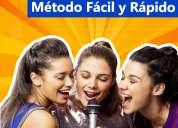 Clases de canto, afinación, vocalización